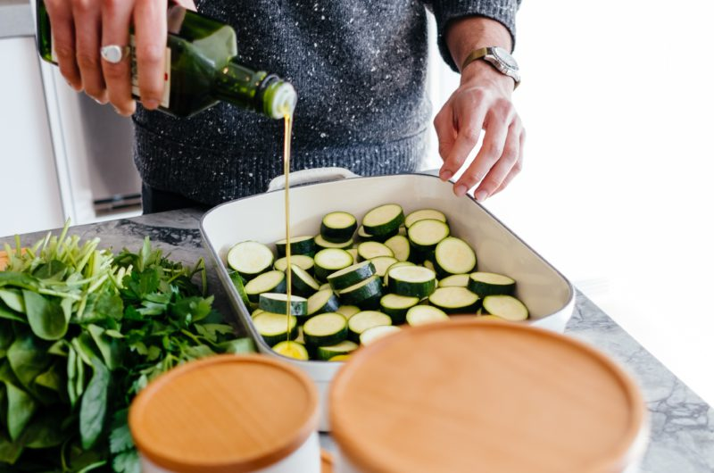 Sauteed Zucchini and Squash with Thyme